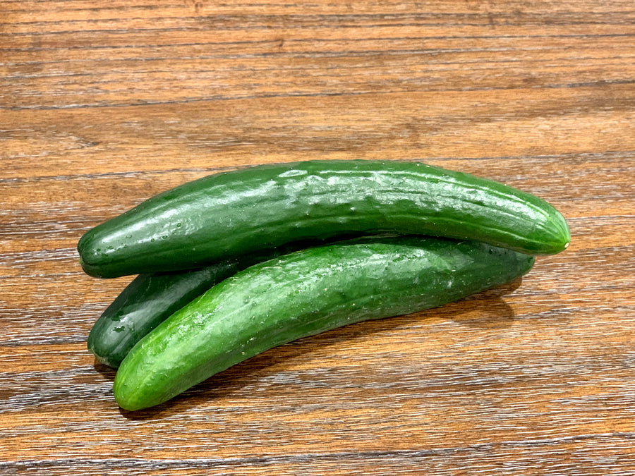 Japanese Cucumber (3 Count)-Local Vista Farm