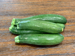 Zucchini (3ct) Locally Grown - Size Varies