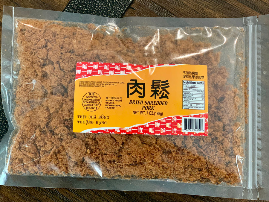 Weiyee Dried Shredded Pork (7oz) 唯一肉鬆-Coming 8/05