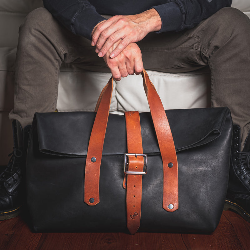 "The Weekender - Our Small ""Rugged"" Duffle or Gym Bag"