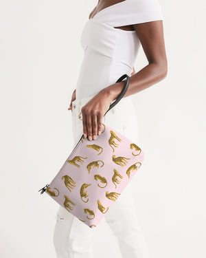 Pink Leopards Daily Zip Pouch