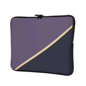 Personalized Laptop Sleeve - Grape & Navy
