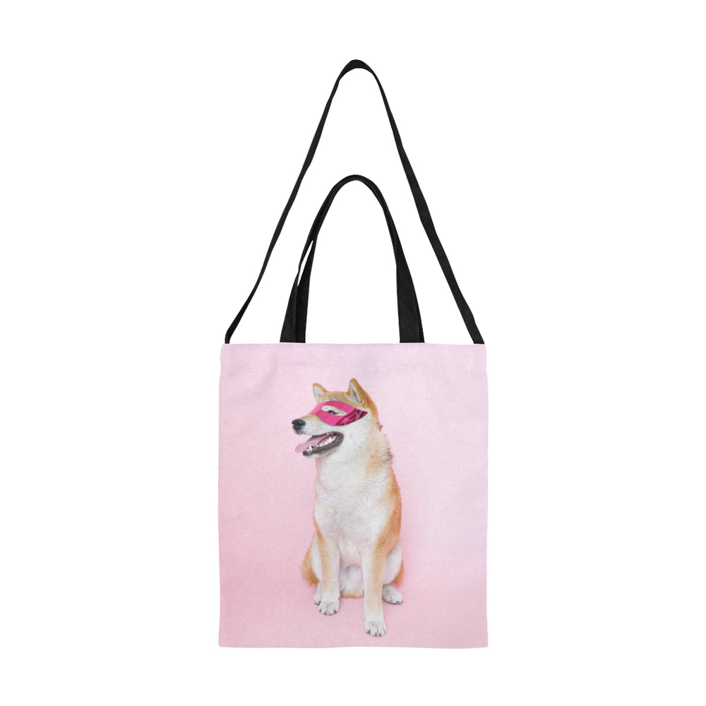 Medium Canvas Tote with Custom Photo