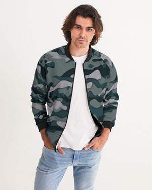 Green Camo Men's Bomber Jacket