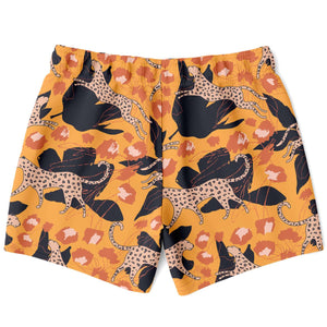 Jungle Leopard Swim Shorts