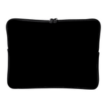 Personalized Classic Black Laptop Sleeve