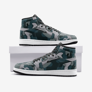 Load image into Gallery viewer, Green Camo Unisex Sneakers