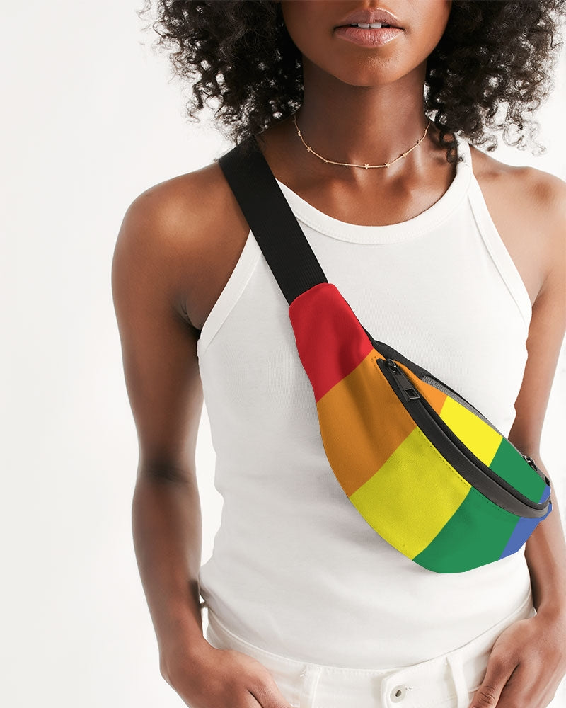 Rainbow Pride Crossbody Sling Bag