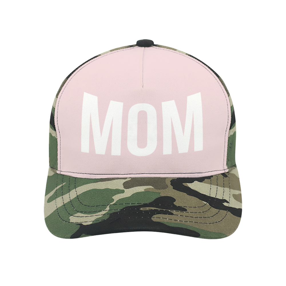 Load image into Gallery viewer, Mom Pink & Camo Cap