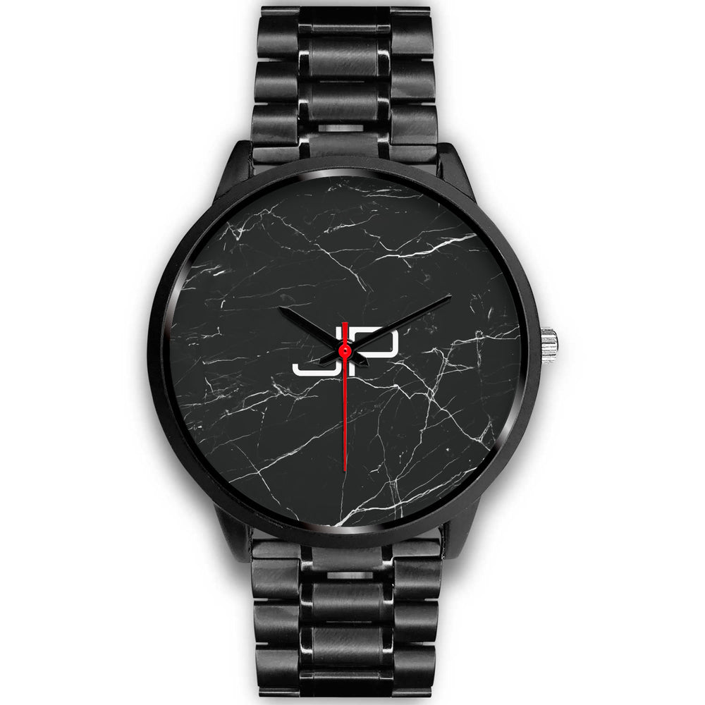 Chicago Unisex Black Personalized Watch