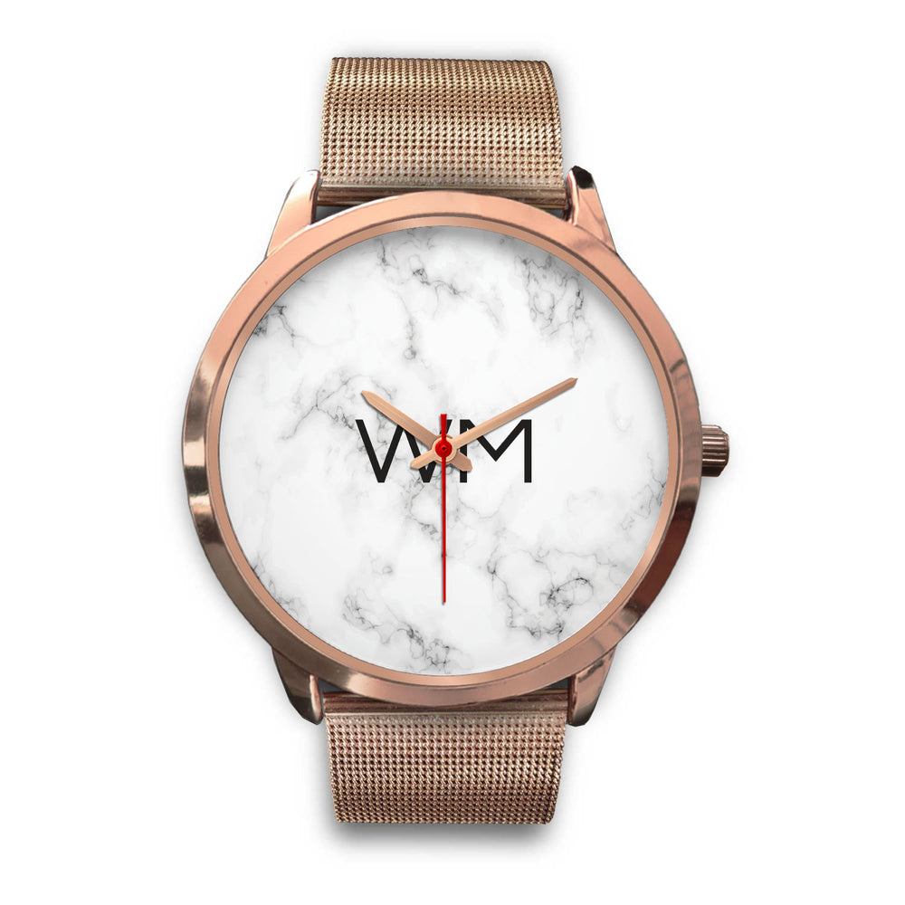 Paris Unisex Rose Gold Personalized Watch