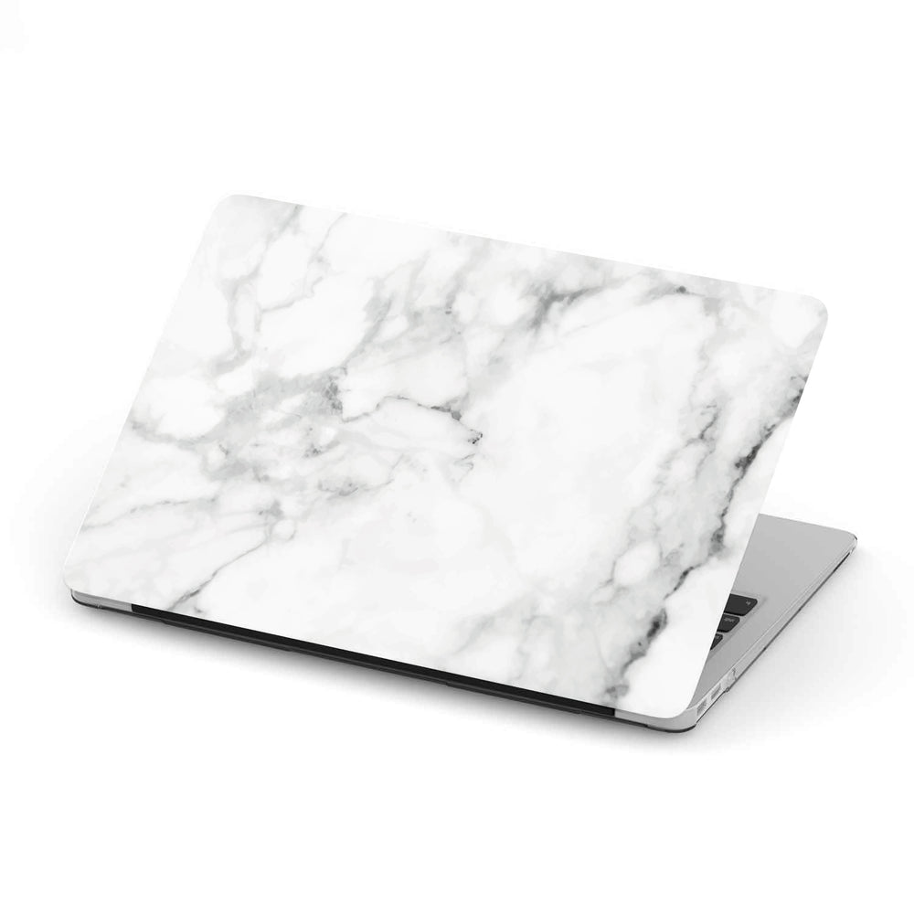 Macbook Hard Shell Case - White Marble