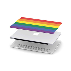 Load image into Gallery viewer, Macbook Hard Shell Case - LGBT