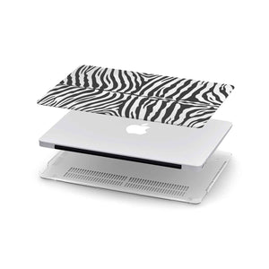 Macbook Hard Shell Case - White Tiger