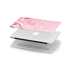 Macbook Hard Shell Case - Pink Marble