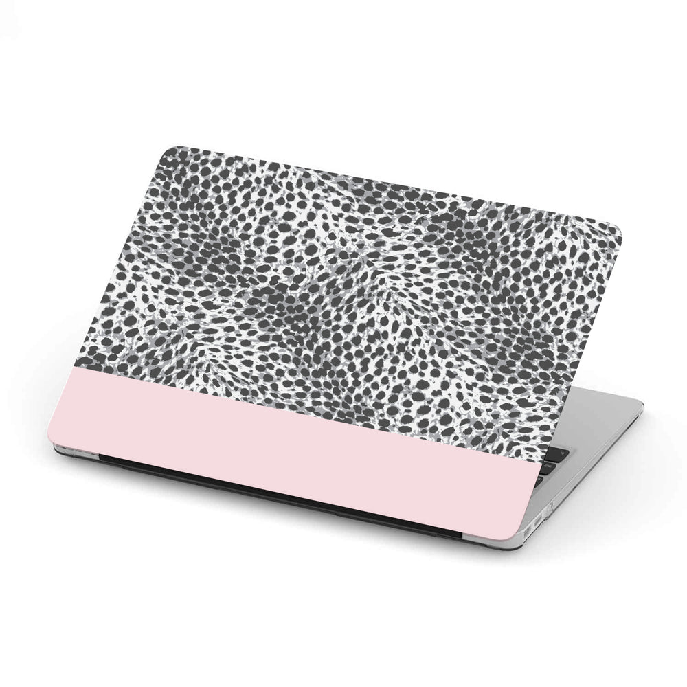 Personalized Macbook Hard Shell Case - Leopard Skin & Custom Color