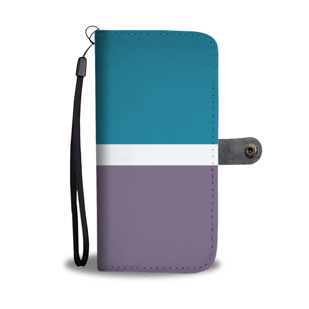 Personalized Grape & Blue Phone Wallet Case