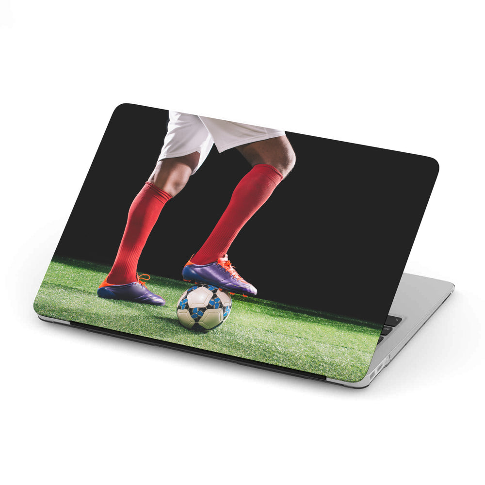 Personalized Macbook Hard Shell Case - Soccer / Football