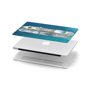 Personalized Macbook Hard Shell Case - Cruise Ships