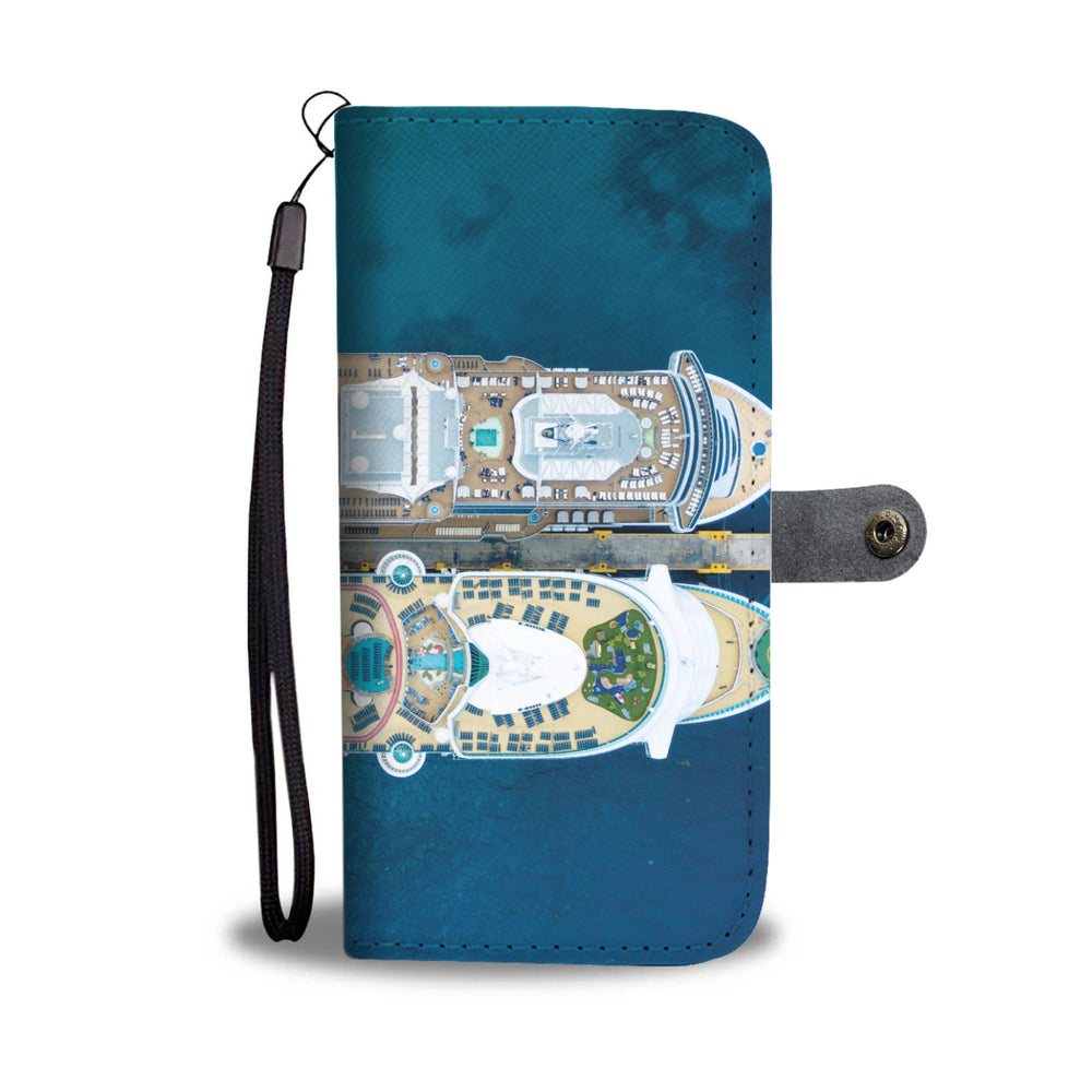 Personalized Cruise Ship Phone Wallet Case