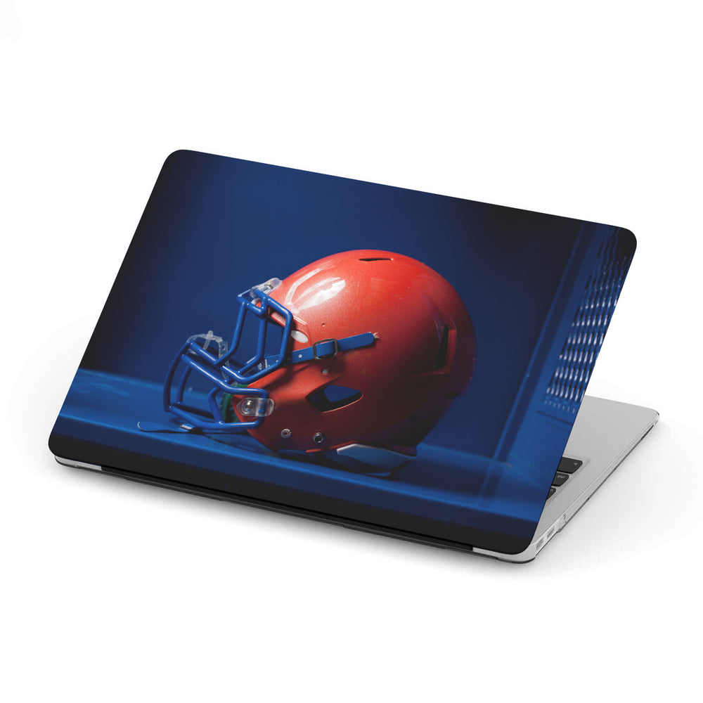 Personalized Macbook Hard Shell Case - Football Helmet