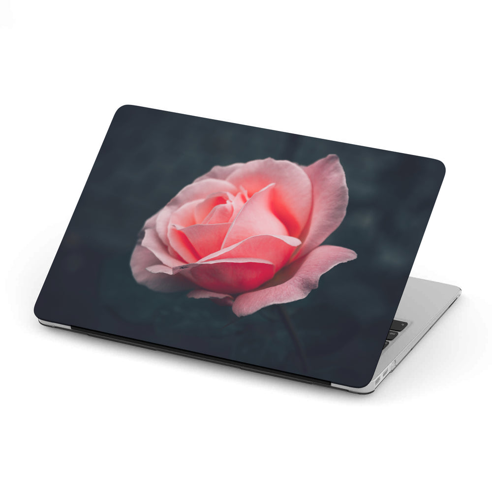 Personalized Rose Macbook Hard Shell Case