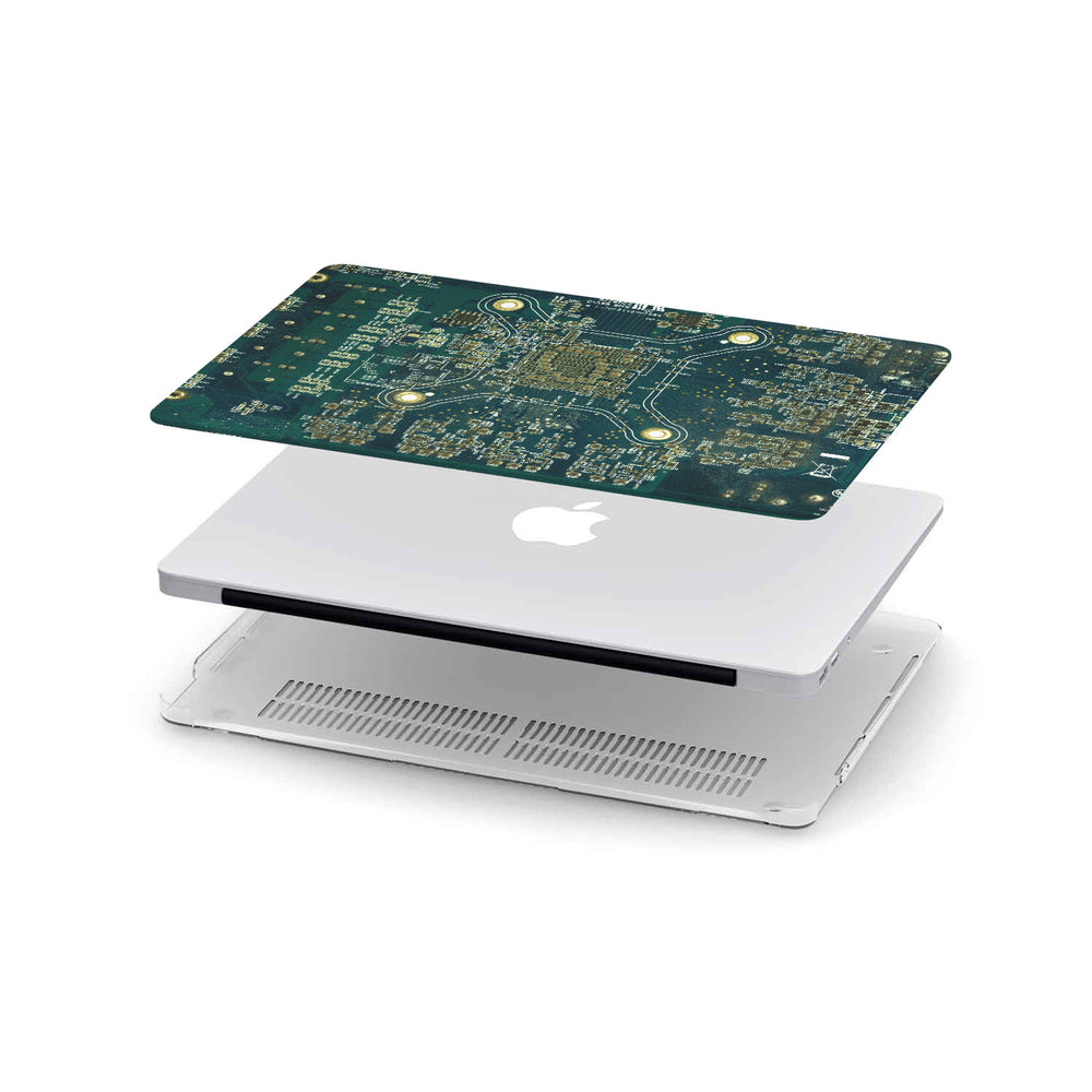 Macbook Hard Shell Case - Circuit Board