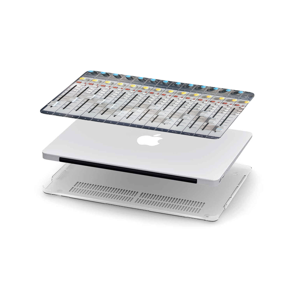Load image into Gallery viewer, Macbook Hard Shell Case - DJ Audio Mixer