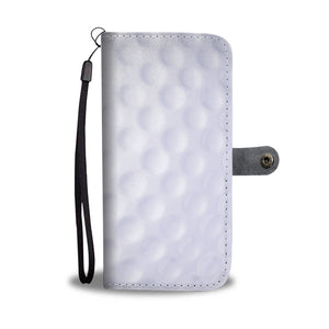 Personalized Golf Ball Phone Wallet Case
