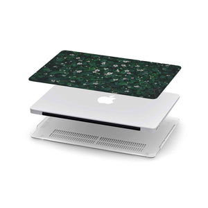Load image into Gallery viewer, Macbook Hard Shell Case - Little White Flowers