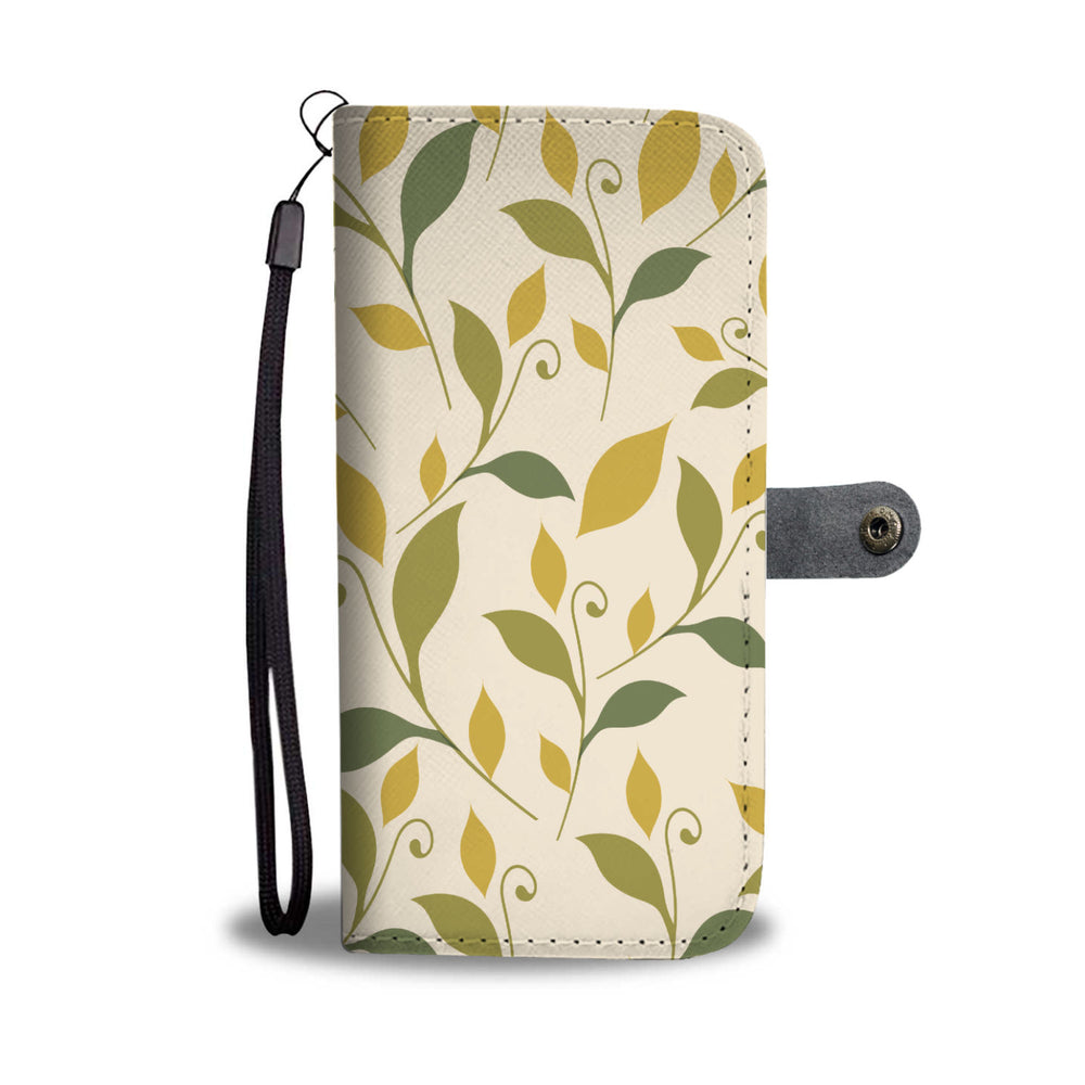 Floral & Butter Phone Wallet Case