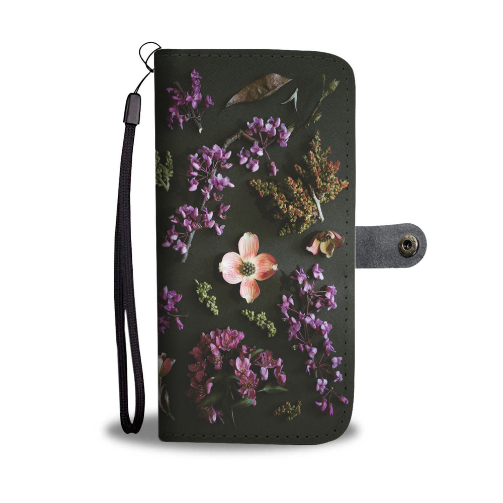 Flower Burst Phone Wallet Case