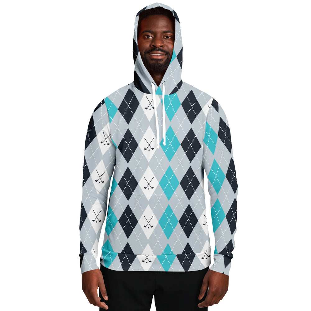 Load image into Gallery viewer, Vintage Golf Pattern Unisex Hoodie