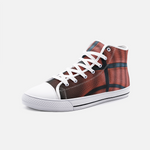 Basketball Leather High Top Canvas Shoes