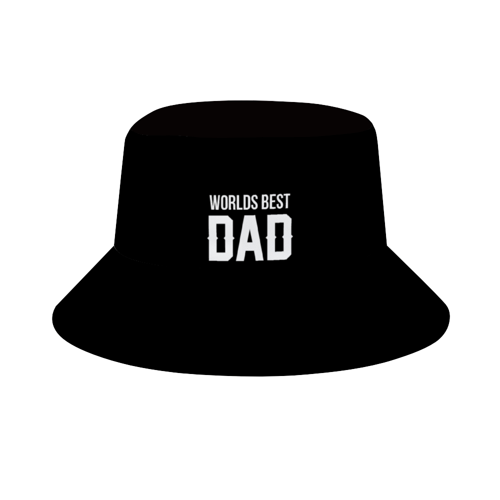 Worlds Best Dad Hat (Black)