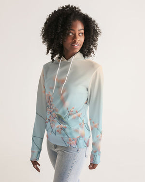 Cherry Blossoms with Bird Women's Hoodie