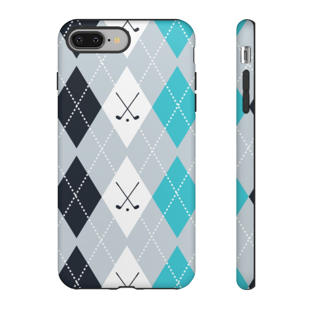 Load image into Gallery viewer, Vintage Golf Pattern Tough Phone Case