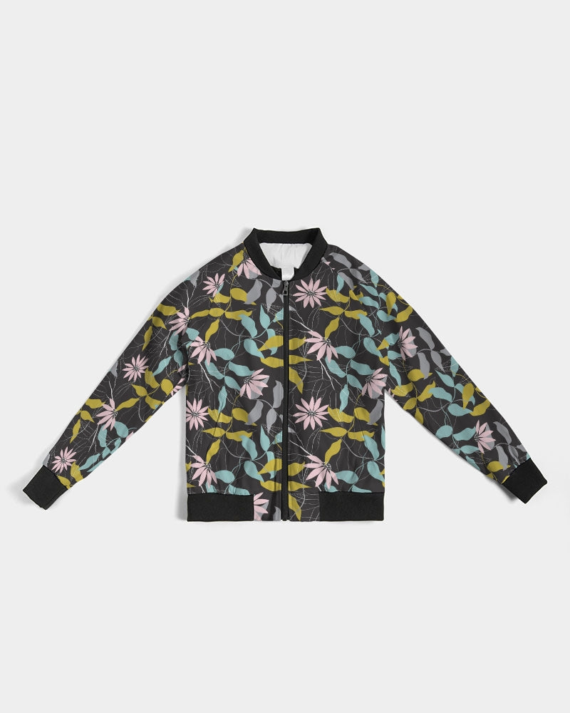 Evening Floral Women's Bomber Jacket