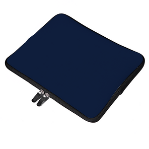 Personalized Classic Navy Laptop Sleeve