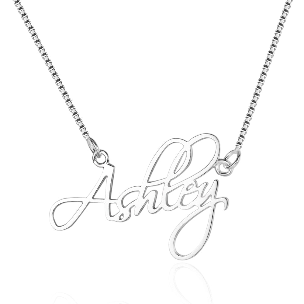 Personalized Name Necklace in Silver, Gold, Rose Gold