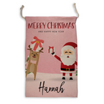 Personalized Santa Sack - Custom Christmas Sack