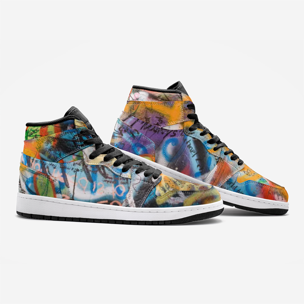 Peace Graffiti Unisex Sneakers
