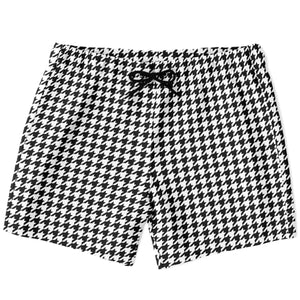 Load image into Gallery viewer, Houndstooth Swim Shorts