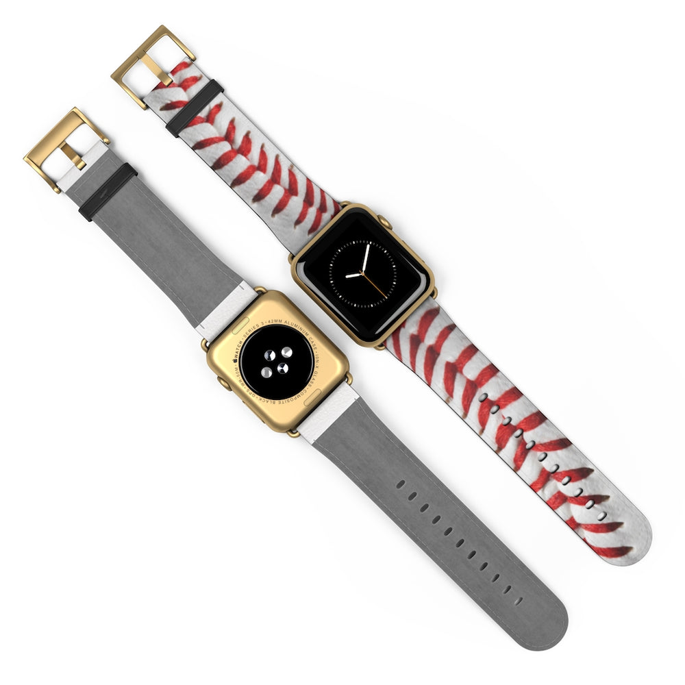 Load image into Gallery viewer, Baseball Seam Apple Watch Band