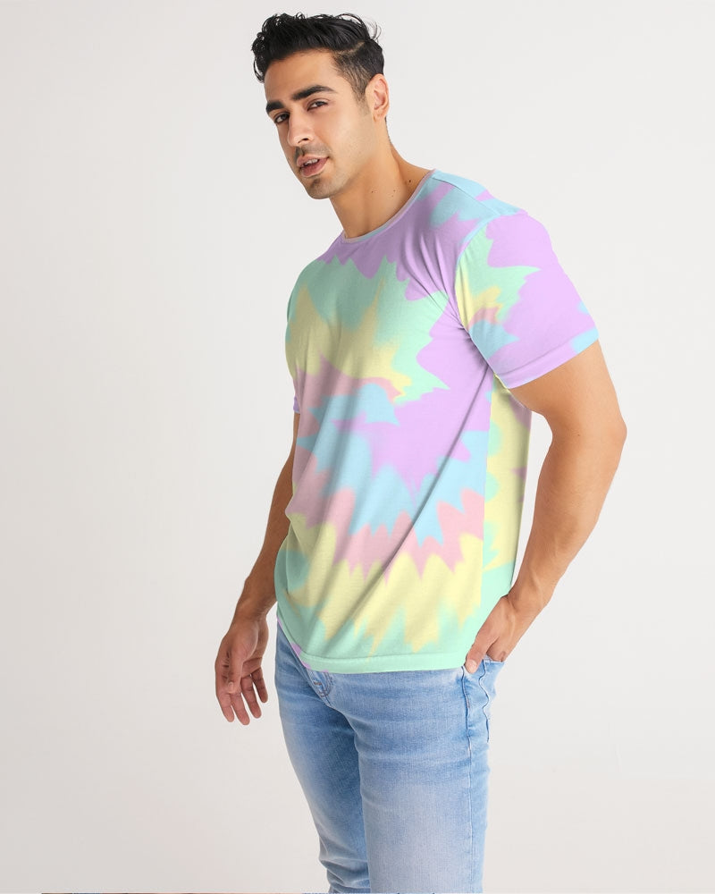 Load image into Gallery viewer, Pastel Smash Tie Dye Men's Tee