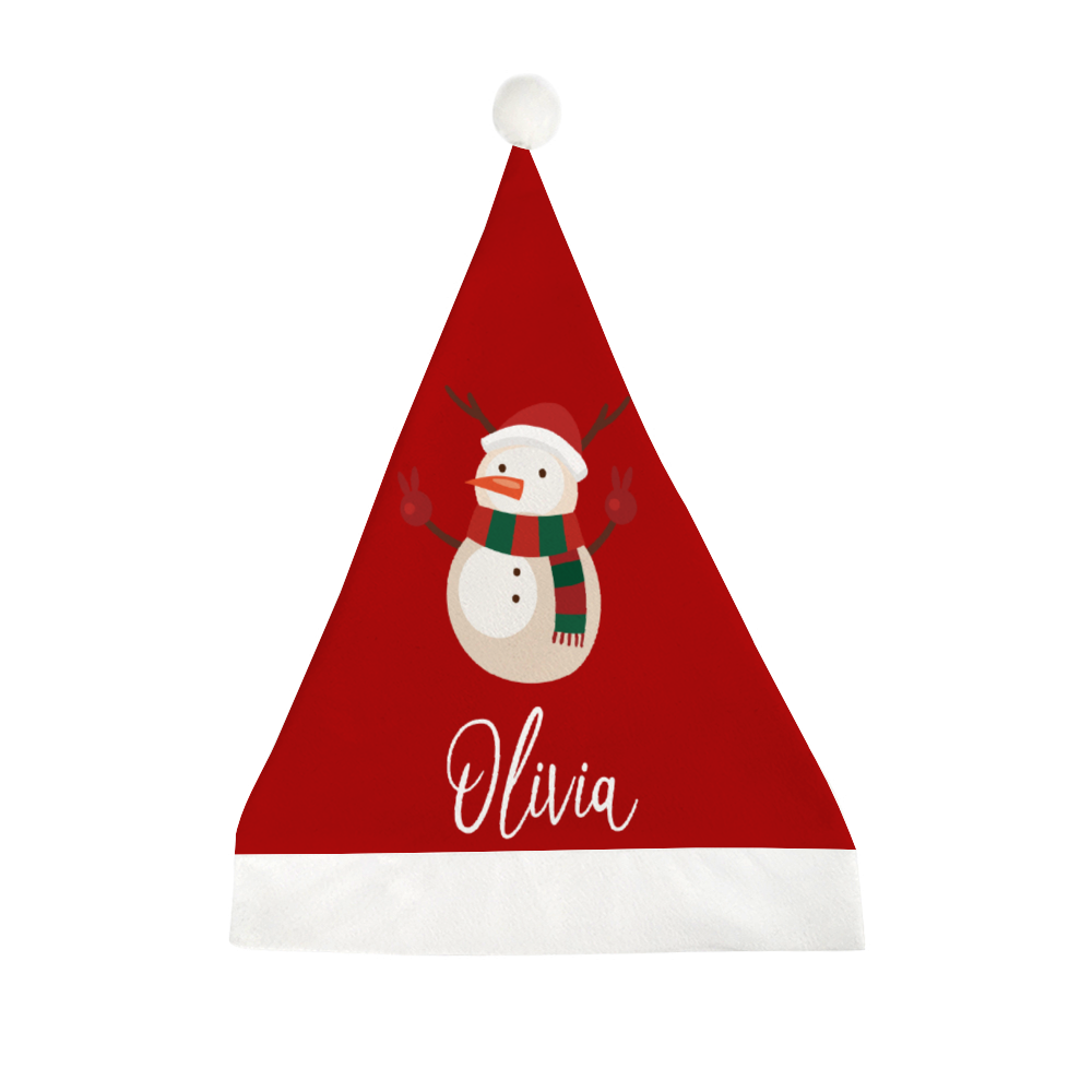 Personalized Santa Hat with Custom Name