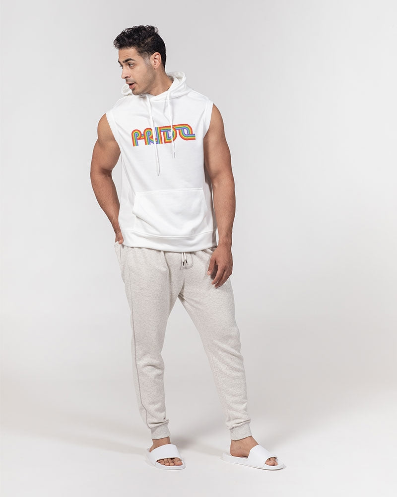 Pride Men's Premium Heavyweight Sleeveless Hoodie