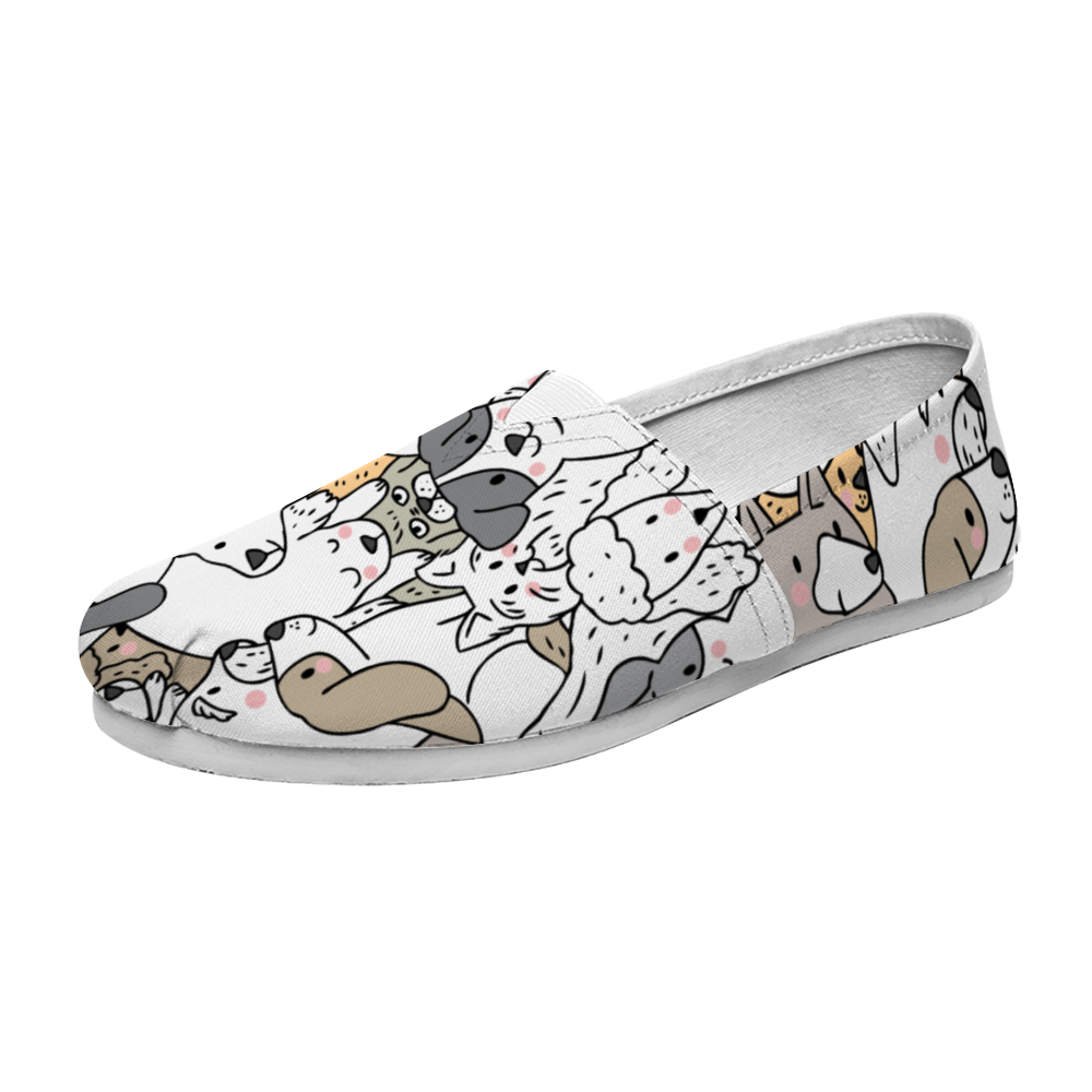 Pooch Family Casual Slip On Shoes