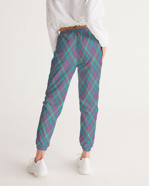 Load image into Gallery viewer, Purple & Green Tartan Women's Track Pants