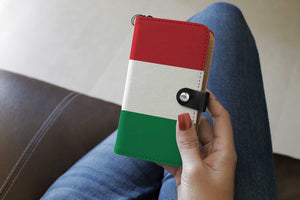Personalized Italy Flag Phone Wallet Case
